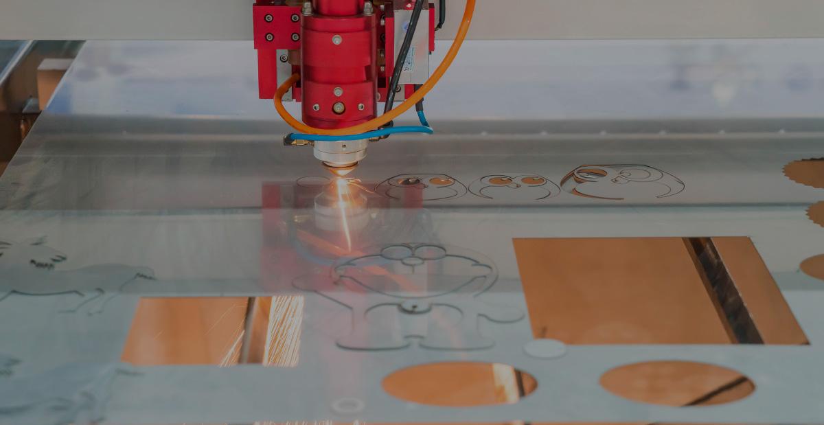Equipos láser para grabado y corte