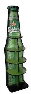 Exhibidor Botella Carlsberg