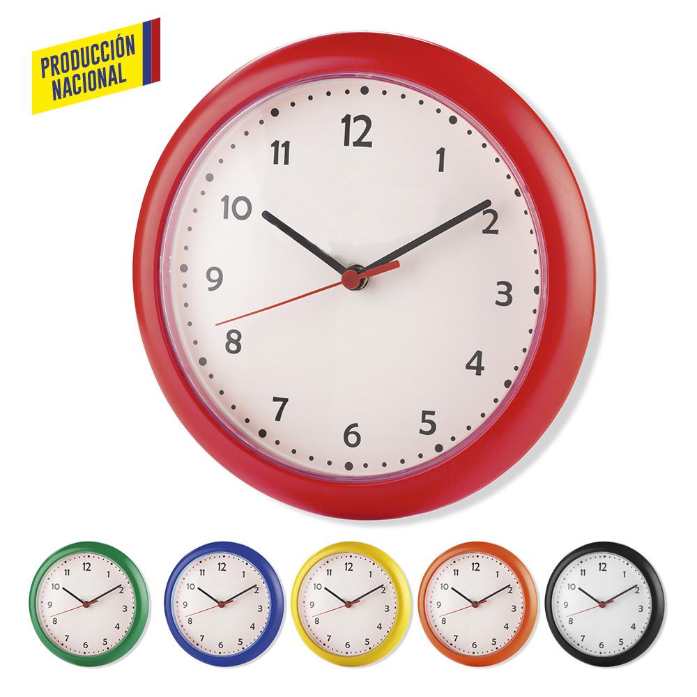 Reloj de pared dual