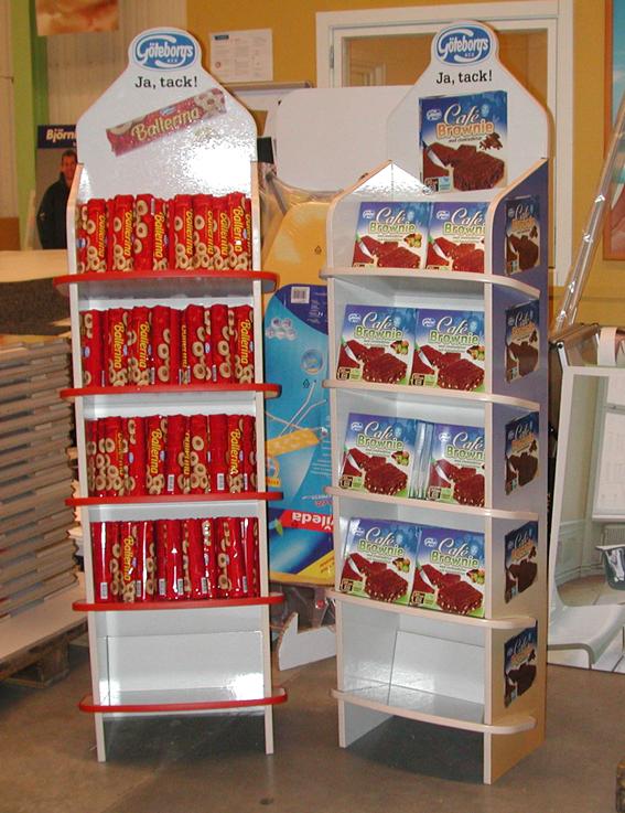 Ideales para exhibir productos en PDV