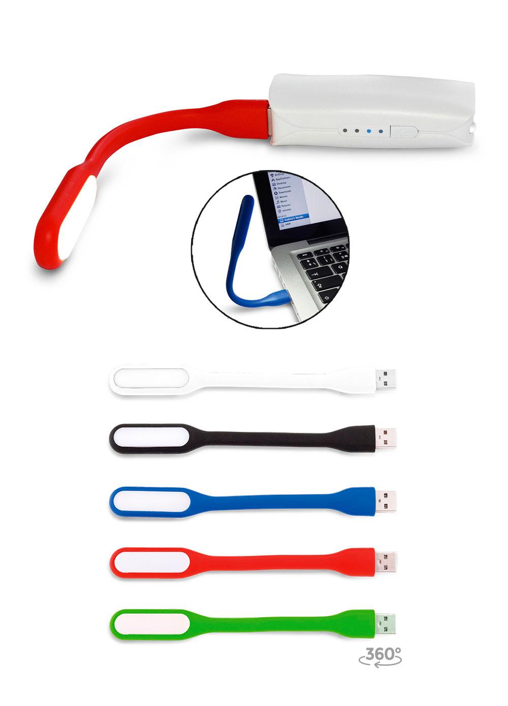 Mini lampara flexible