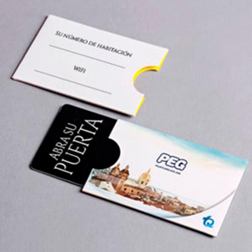 Porta tarjeta hotel