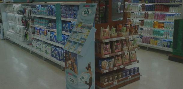 Exhibidores para punto de venta In-store branding