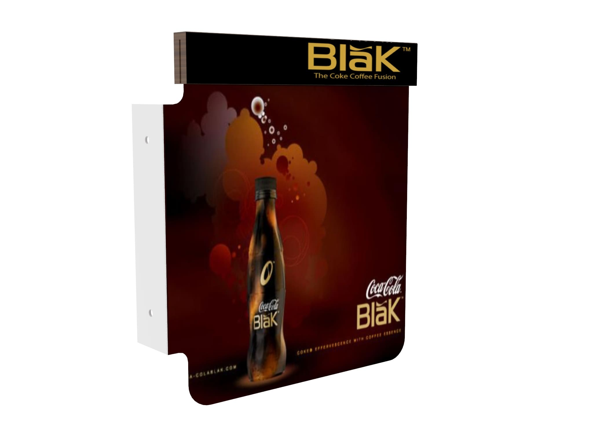 Aplicación de concepto de campaña a multiples piezas como Flanger Blak