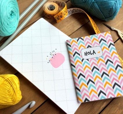 Cuadernos notas de moda