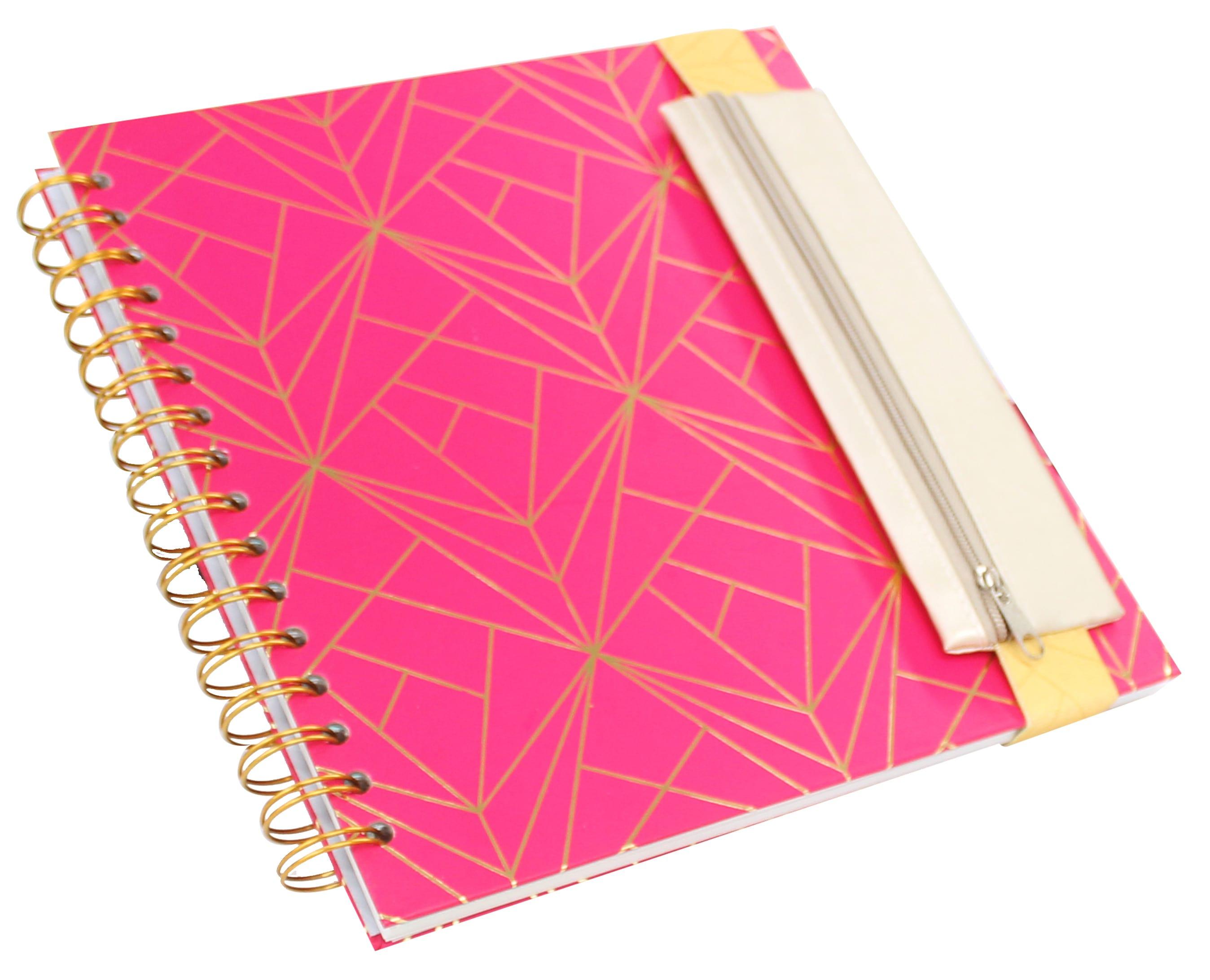 Set cuaderno + cartuchera con elástico