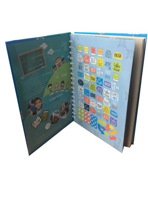 Diseño de cuadernos y agendas corporativas